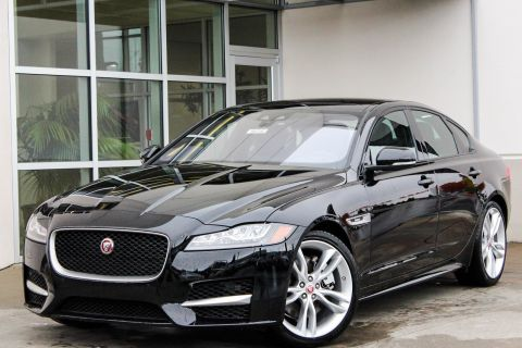 New 2018 Jaguar XF 35t R-Sport With Navigation & AWD