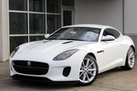 New 2018 Jaguar F-TYPE 296HP With Navigation