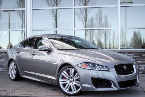 Certified Pre-Owned 2015 Jaguar XF V8 XFR RWD 4dr Car