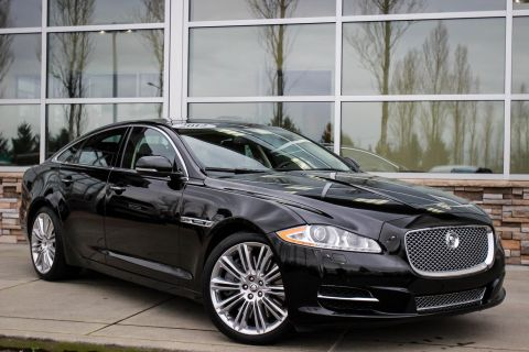 Pre-Owned 2012 Jaguar XJ Supercharged With Navigation