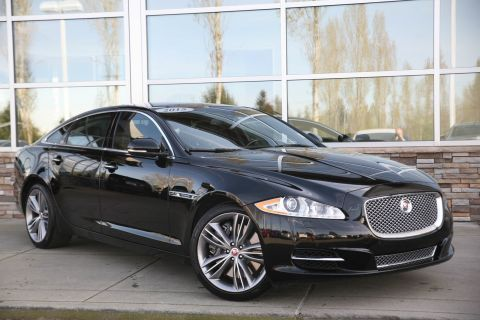 Certified Pre-Owned 2015 Jaguar XJ XJL Supercharged With Navigation