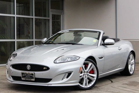 Certified Pre-Owned 2014 Jaguar XK XKR With Navigation