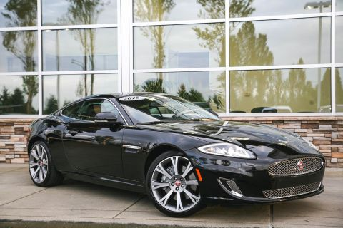 Certified Pre-Owned 2015 Jaguar XK 2DR CPE With Navigation