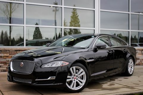 New 2016 Jaguar XJ XJL Portfolio With Navigation & AWD