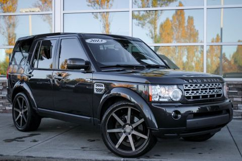 Pre-Owned 2013 Land Rover LR4 HSE With Navigation & AWD