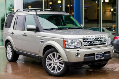 Pre-Owned 2012 Land Rover LR4 HSE With Navigation & AWD