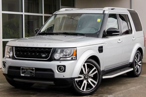 Certified Pre-Owned 2016 Land Rover LR4 HSE LUX Landmark Edition 4WD