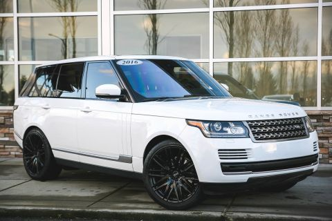 Certified Pre-Owned 2016 Land Rover Range Rover Diesel With Navigation & 4WD