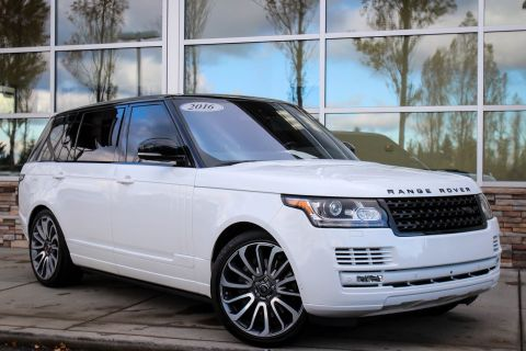 Certified Pre-Owned 2016 Land Rover Range Rover Supercharged With Navigation & 4WD