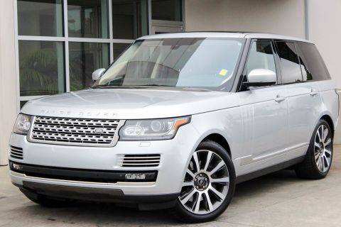 Certified Pre-Owned 2014 Land Rover Range Rover Supercharged Autobiography With Navigation & 4WD