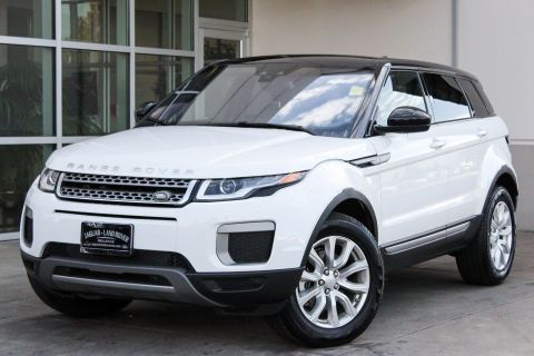 Certified Pre-Owned 2017 Land Rover Range Rover Evoque SE With Navigation & 4WD