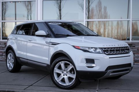 Certified Pre-Owned 2015 Land Rover Range Rover Evoque Pure Plus 4WD