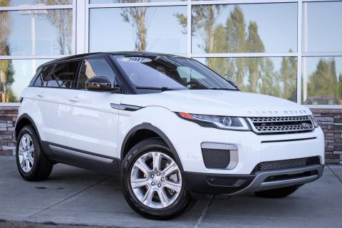 Pre-Owned 2017 Land Rover Range Rover Evoque SE With Navigation & 4WD