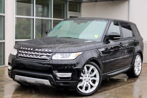 Certified Pre-Owned 2014 Land Rover Range Rover Sport Supercharged With Navigation & 4WD
