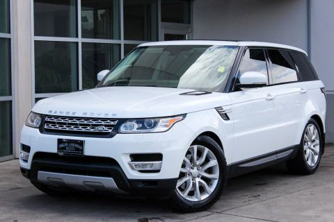 Certified Pre-Owned 2015 Land Rover Range Rover Sport HSE With Navigation & 4WD