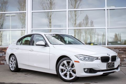 Pre-Owned 2014 BMW 3 Series ActiveHybrid 3 RWD 4dr Car