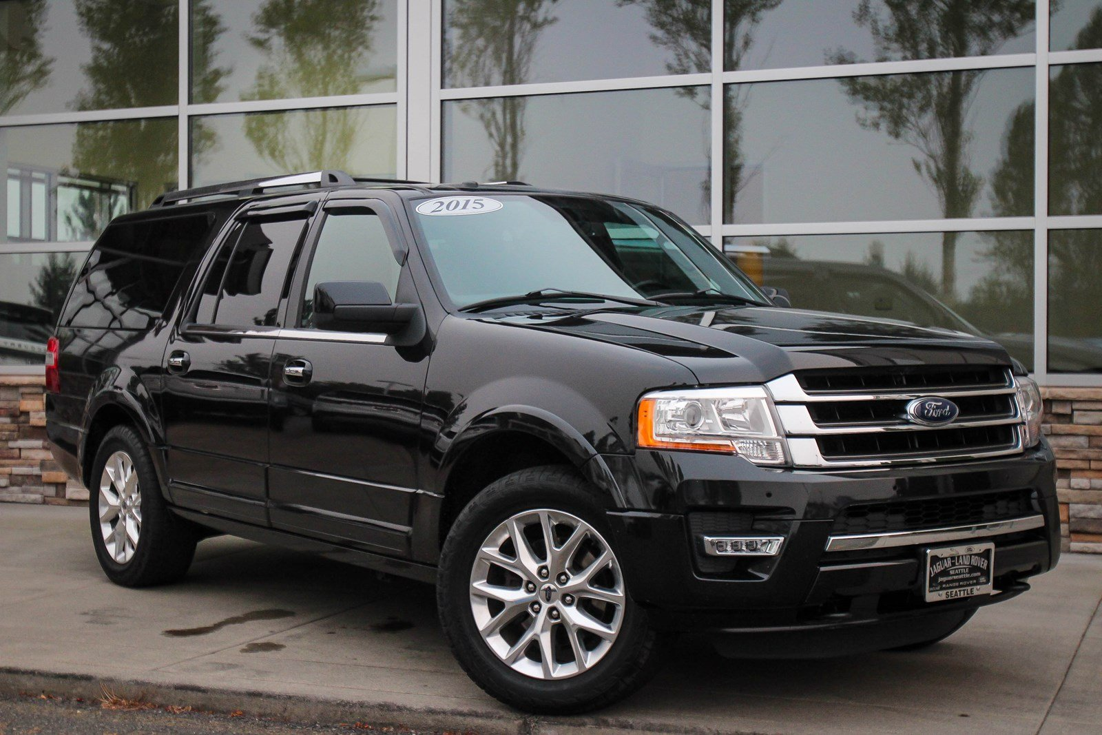 pre owned 2015 ford expedition el limited sport utility in bellevue 10300 jaguar bellevue. Black Bedroom Furniture Sets. Home Design Ideas