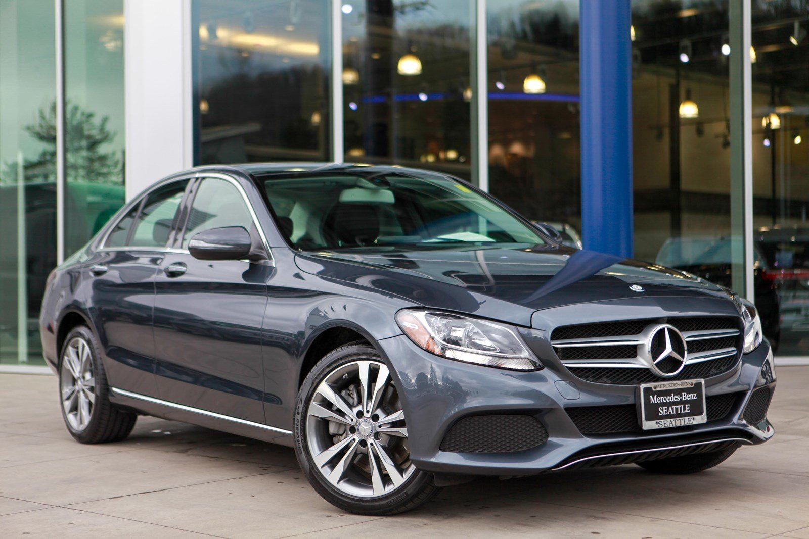 Exceptional Pre Owned 2016 Mercedes Benz C Class C 300 Sport